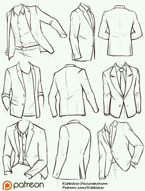 Прикольные и красивые картинки одежды для срисовки - подборка 9