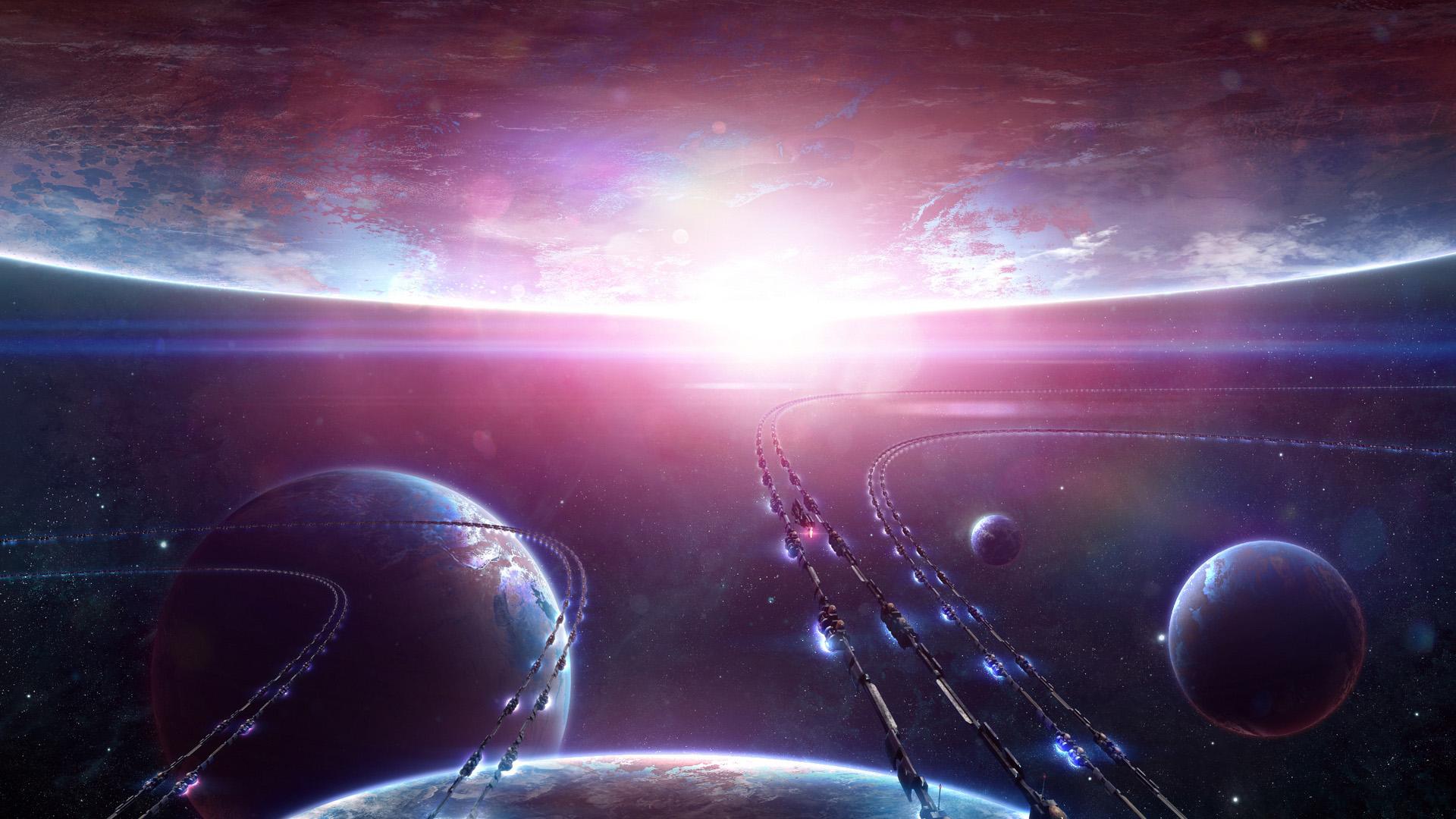 Прикольные и крутые обои космоса на рабочий стол - подборка №8 7