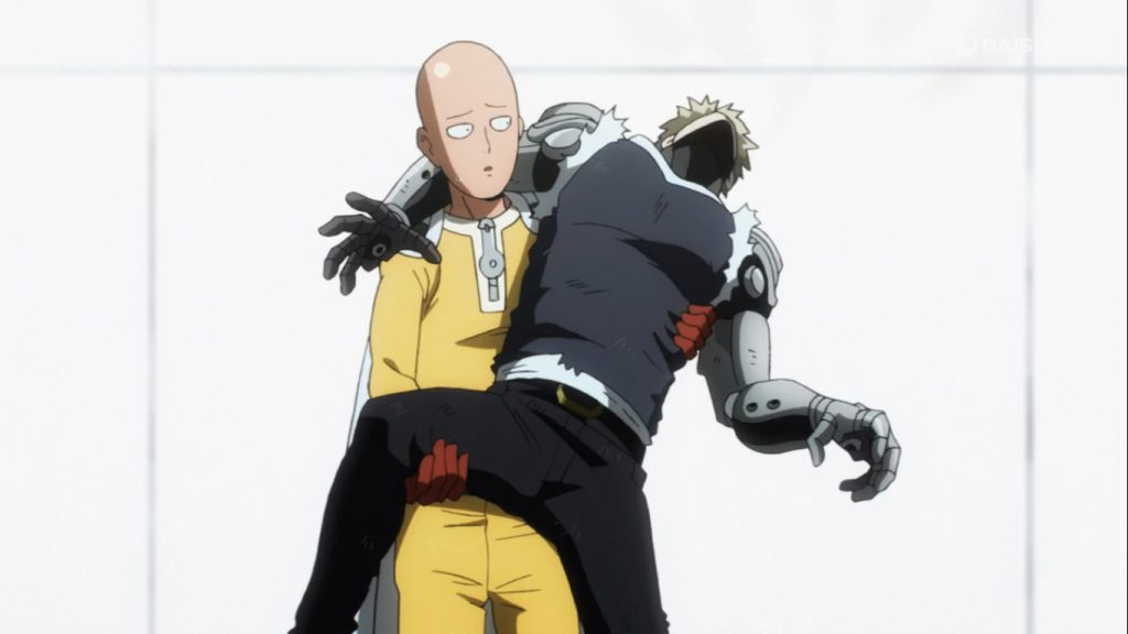 Аниме Ванпанчмен, One Punch Man - крутые обои на рабочий стол 1