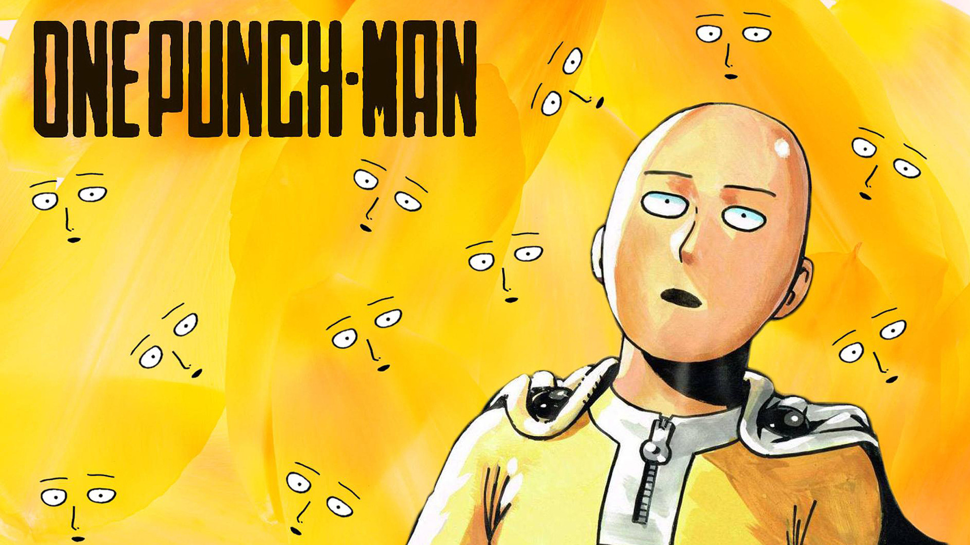 Аниме Ванпанчмен, One Punch Man - крутые обои на рабочий стол 10