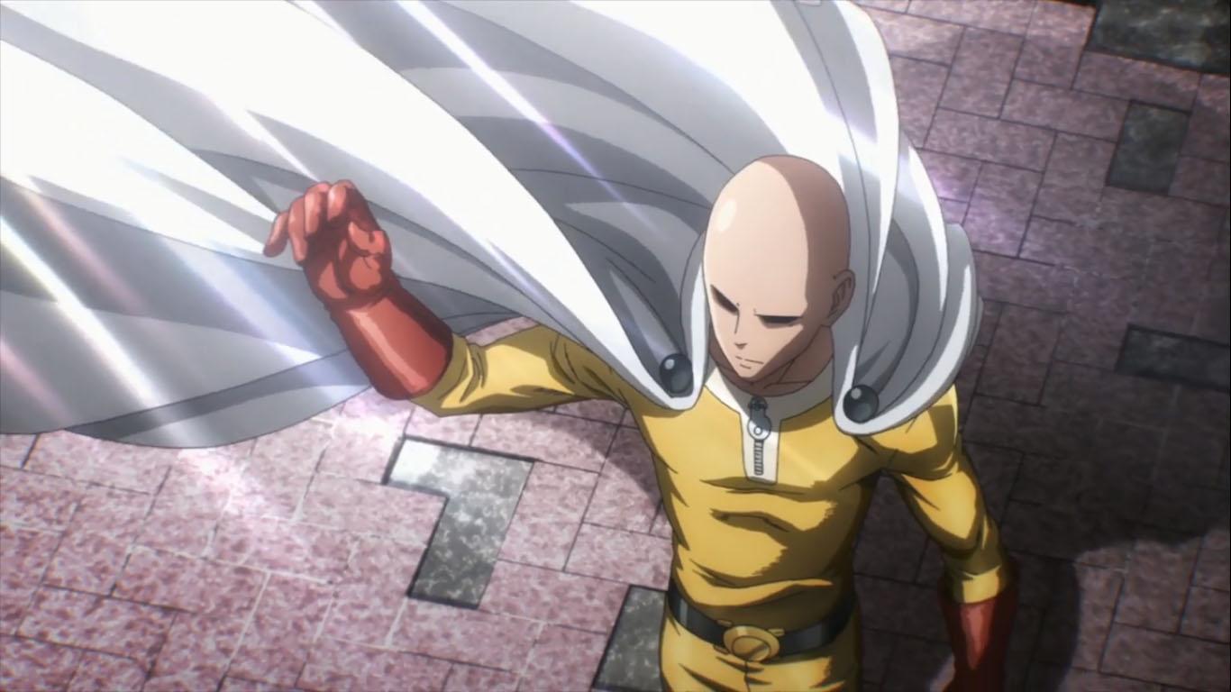 Аниме Ванпанчмен, One Punch Man - крутые обои на рабочий стол 9