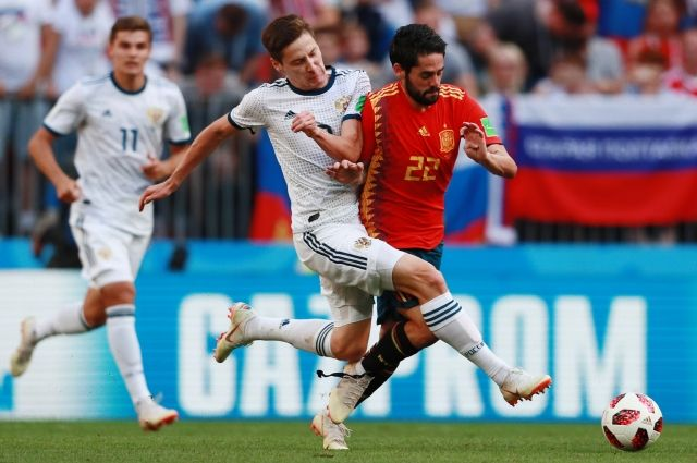 Счет футбол сегодня россия испания