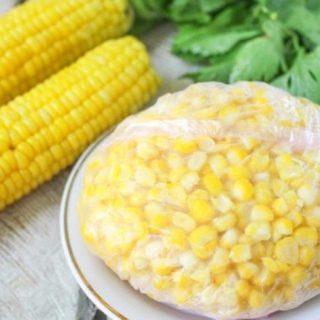 Как правильно заморозить кукурузу на осень или зиму - этапы 2