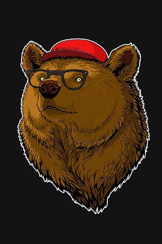 Картинки на телефон медведи, аватарки с медведями - подборка 11