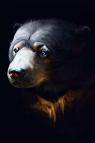 Картинки на телефон медведи, аватарки с медведями - подборка 13