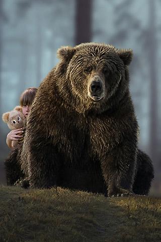 Картинки на телефон медведи, аватарки с медведями - подборка 5