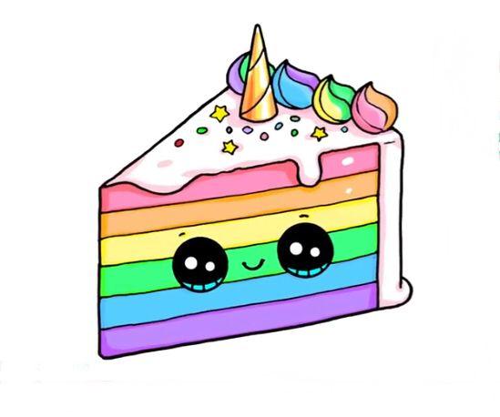 Картинки сладостей и вкусняшек для срисовки в дневник - подборка 17