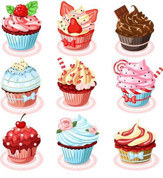Картинки сладостей и вкусняшек для срисовки в дневник - подборка 8