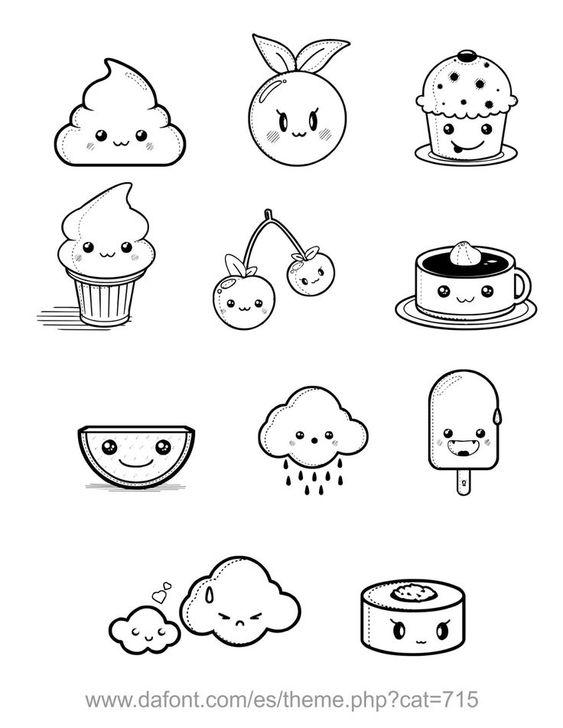 Классные и легкие рисунки, картинки срисовки для ЛД - подборка 1