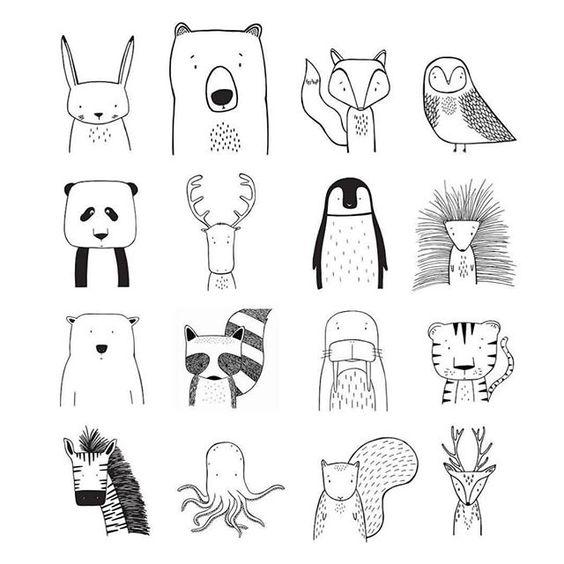Классные и легкие рисунки, картинки срисовки для ЛД - подборка 11