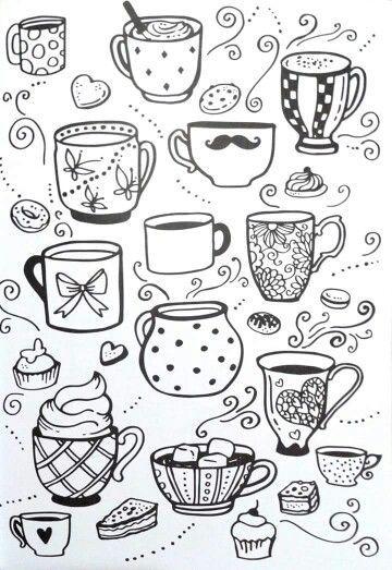Классные и легкие рисунки, картинки срисовки для ЛД - подборка 8