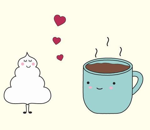 Классные и прикольные картинки для срисовки кофе сборка 2018 6