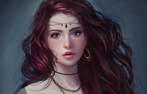 Красивые Арты девушек на аву в социальные сети - подборка 12