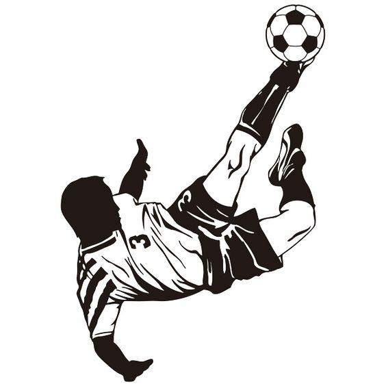 Красивые и прикольные картинки про футбол для срисовки - сборка 10