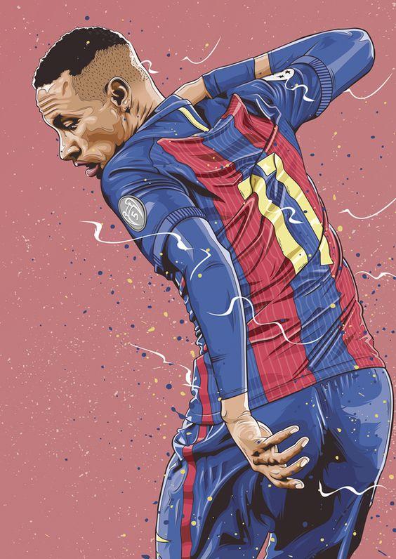 Красивые и прикольные картинки про футбол для срисовки - сборка 11