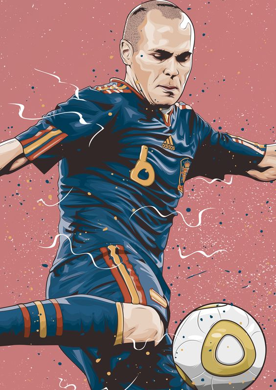 Красивые и прикольные картинки про футбол для срисовки - сборка 3