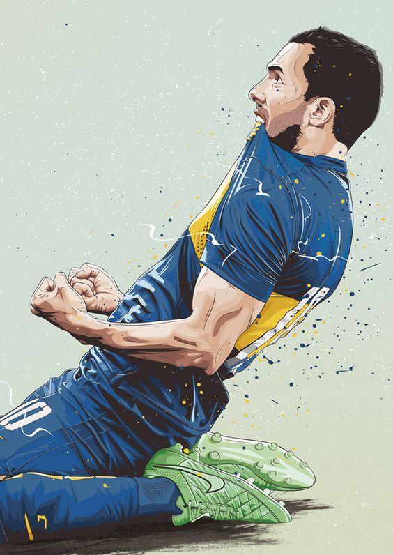 Красивые и прикольные картинки про футбол для срисовки - сборка 4