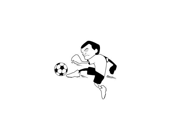 Красивые и прикольные картинки про футбол для срисовки - сборка 5