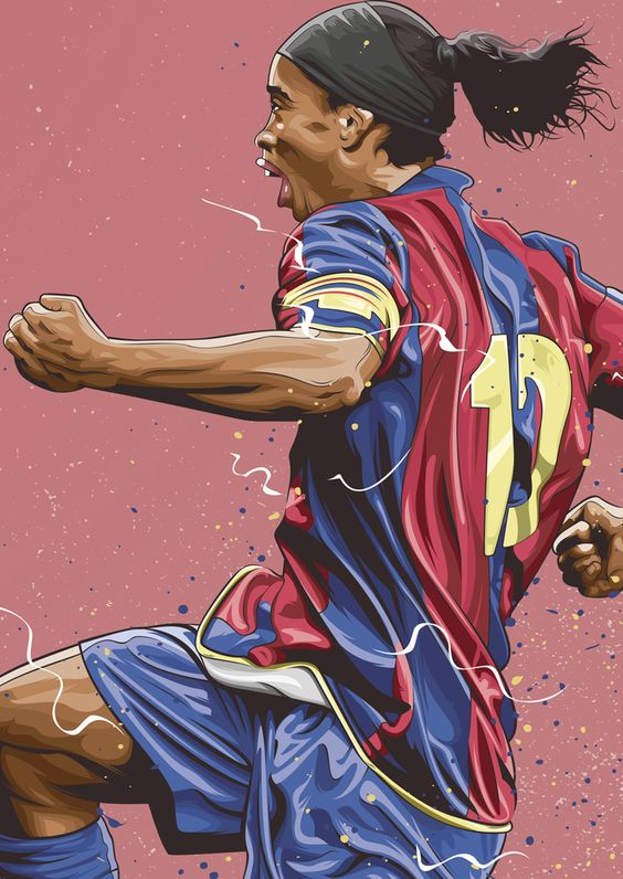 Красивые и прикольные картинки про футбол для срисовки - сборка 8
