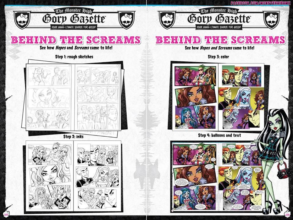 Красивые и прикольные комиксы про Школа монстров Monster High 12