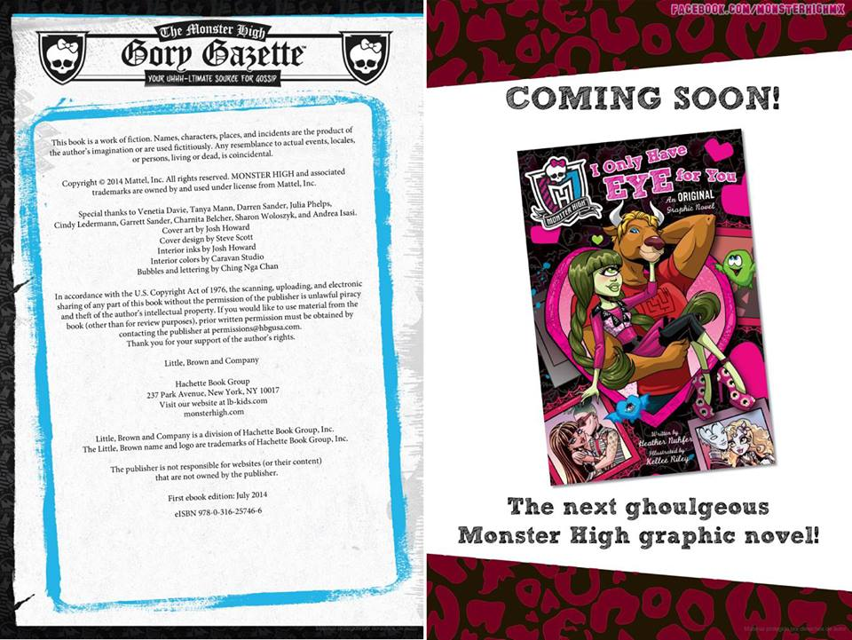 Красивые и прикольные комиксы про Школа монстров Monster High 14