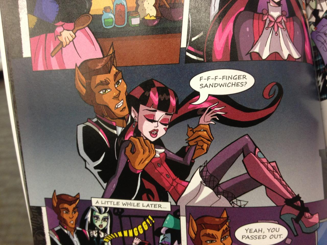 Красивые и прикольные комиксы про Школа монстров Monster High 15