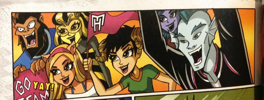 Красивые и прикольные комиксы про Школа монстров Monster High 18