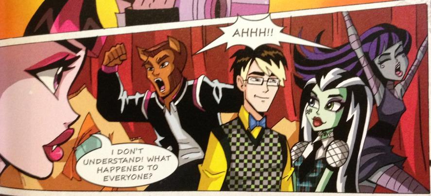 Красивые и прикольные комиксы про Школа монстров Monster High 20
