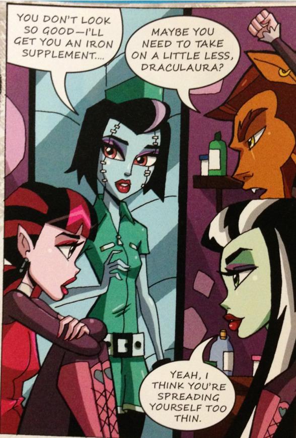 Красивые и прикольные комиксы про Школа монстров Monster High 22
