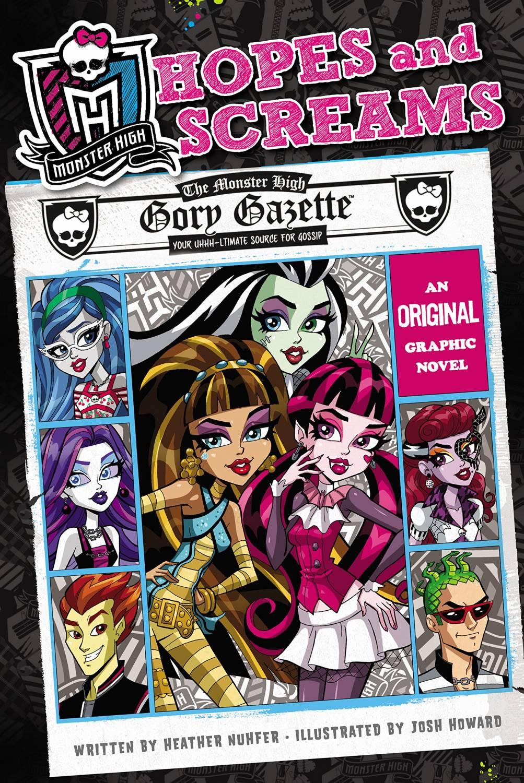 Красивые и прикольные комиксы про Школа монстров Monster High 3