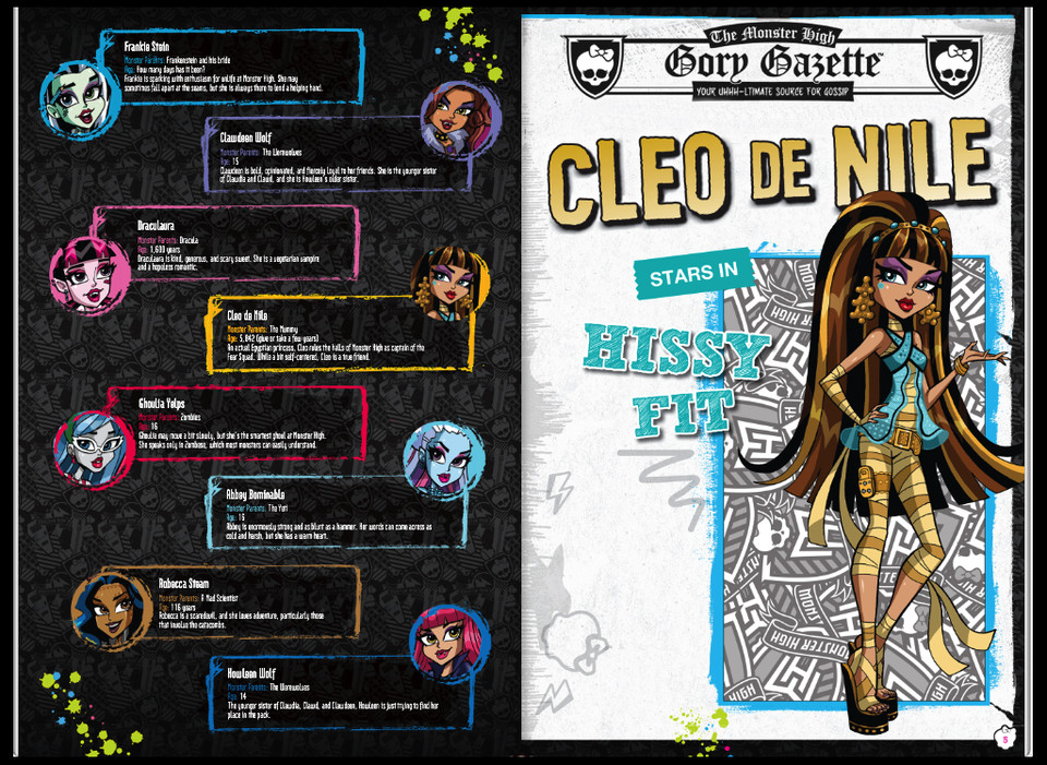 Красивые и прикольные комиксы про Школа монстров Monster High 5