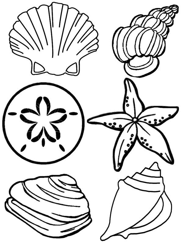 Красивые и прикольные морские картинки для срисовки - подборка 11