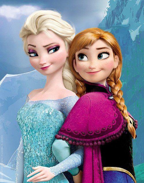 Красивые картинки Эльза и Анна из Холодного Сердца - подборка 1