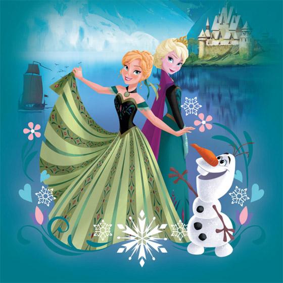 Красивые картинки Эльза и Анна из Холодного Сердца - подборка 13