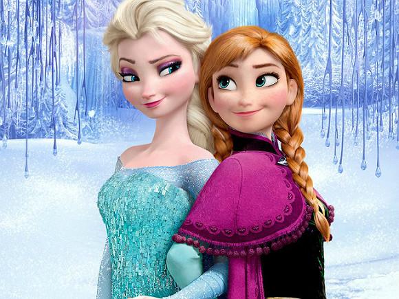 Красивые картинки Эльза и Анна из Холодного Сердца - подборка 15