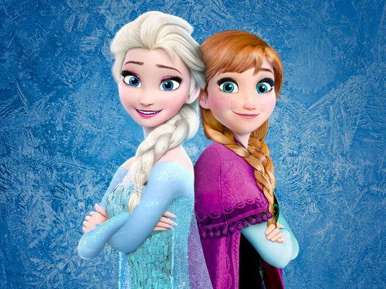 Красивые картинки Эльза и Анна из Холодного Сердца - подборка 2