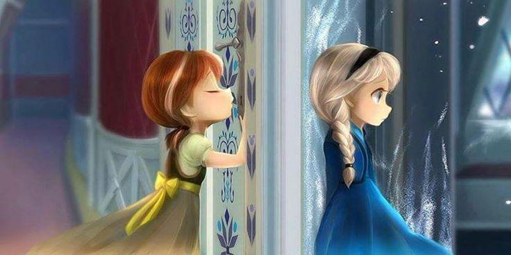 Красивые картинки Эльза и Анна из Холодного Сердца - подборка 8