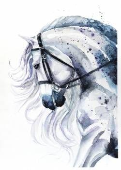 Красивые картинки для срисовки карандашом лошади или пони 11
