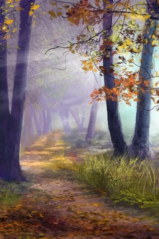 Красивые картинки природы для заставки телефона - подборка 10