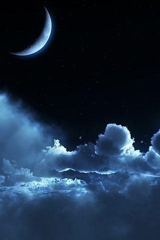 Невероятные и необычные картинки, фото луны на телефон на заставку 13