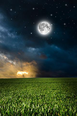 Невероятные и необычные картинки, фото луны на телефон на заставку 20