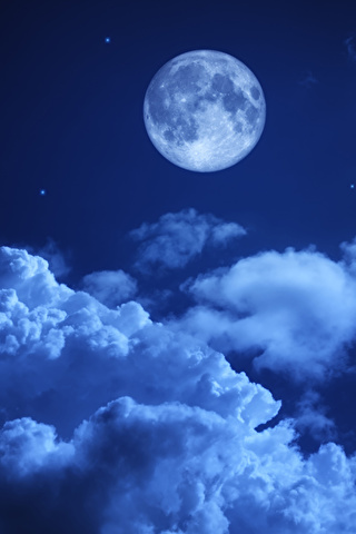 Невероятные и необычные картинки, фото луны на телефон на заставку 3