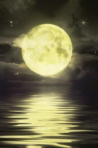 Невероятные и необычные картинки, фото луны на телефон на заставку 5