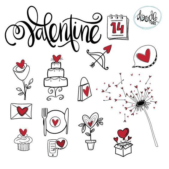 Няшные и милые картинки, рисунки для срисовки в личный дневник 7