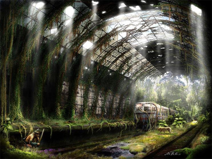 Очень красивые и завораживающие картинки Апокалипсиса - подборка 16