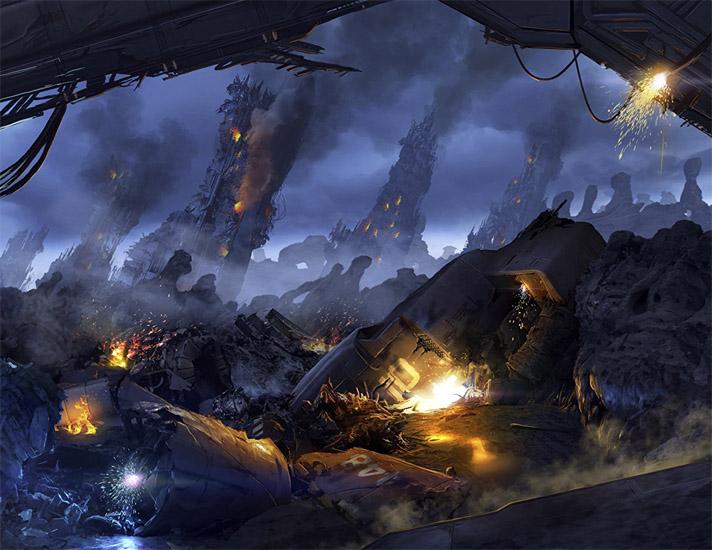 Очень красивые и завораживающие картинки Апокалипсиса - подборка 8