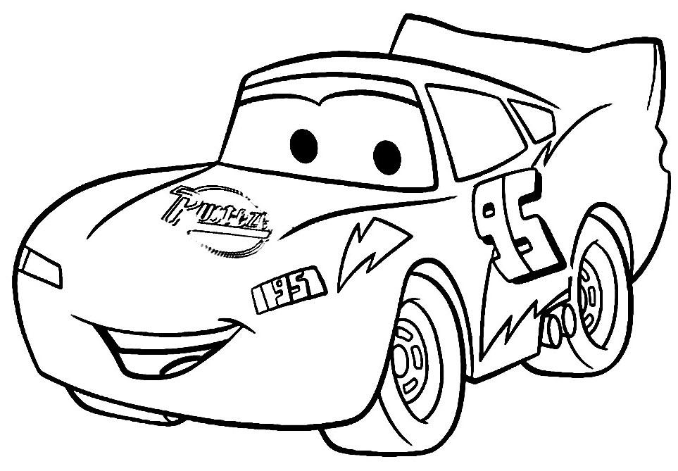 Раскраски для мальчиков машины