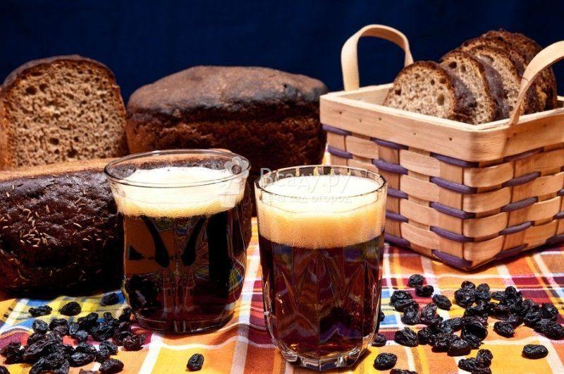Рецепты кваса из черного хлеба. Как приготовить домашний квас 1