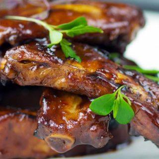 Свиные ребрышки по-канадски - кулинарный рецепт, приготовление 1