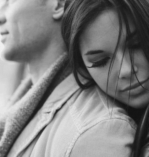 Черно-белые фото влюбленных людей, красивые пары - сборка фото 11